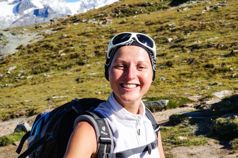 Katrin in der Schweiz